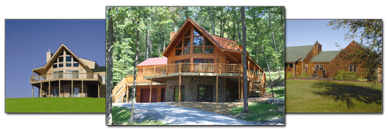 Custom Homes Plans | Cabin In the Woods